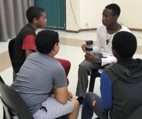 The impact of Children's Ministry training at Trinity Church Mitchell's Plain