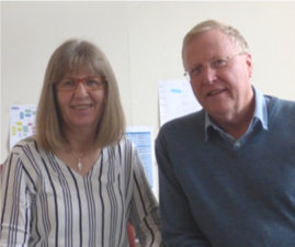 GWC welcomes Drs Dick and Caroline Seed