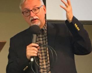 Visiting Old Testament scholar,  Dr John H. Walton, sets GWC abuzz