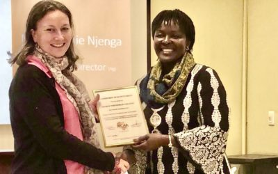 GWC receives a certificate of accreditation from AfCAA