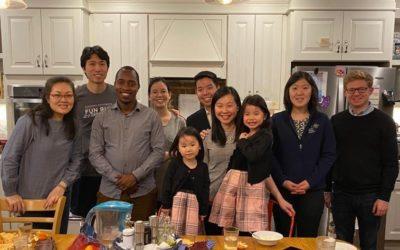 GWC third-year student, Alex Sserwadda, visits Christ Church NYC