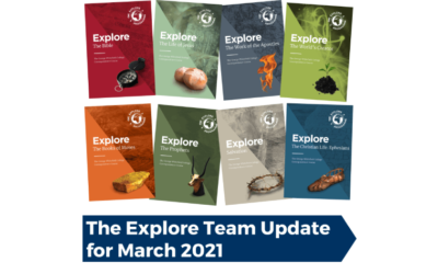 The Explore Team Update for March 2021