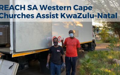 REACH SA Western Cape Churches assist KwaZulu-Natal